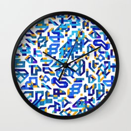 To build a castle Wall Clock