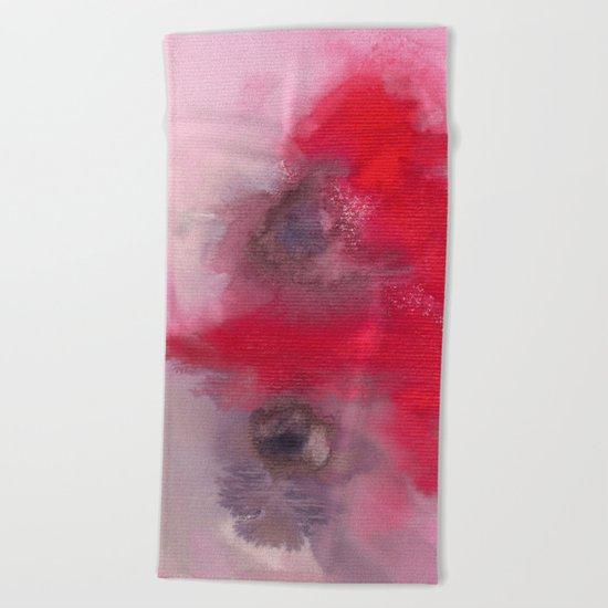 Color explosion 02 Beach Towel