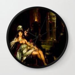 "Gustave Moreau ""Dalila"" Wall Clock"