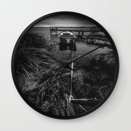 On the wrong side of the lake 16 Wall Clock