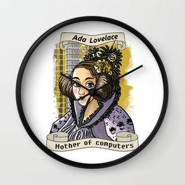 Ada Lovelace Wall Clock