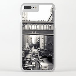 West 15th Clear iPhone Case