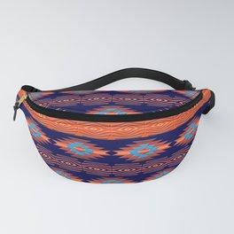 Southwestern ethnic  geometric pattern. Fanny Pack