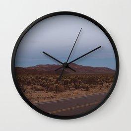 Cholla Cactus Garden XVIII Wall Clock