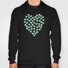 Hearts Heart Mint Hoody