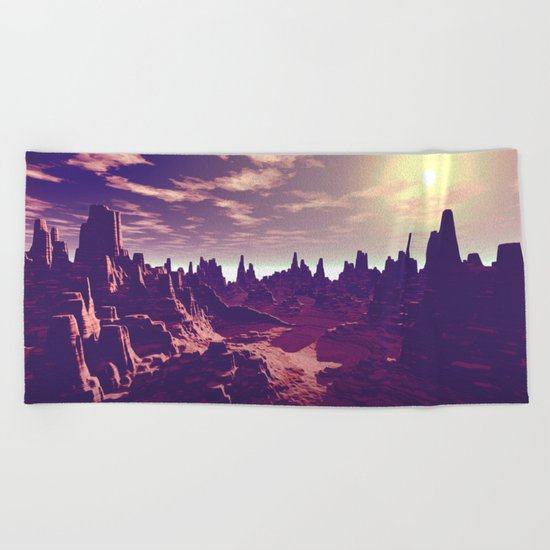 Arizona Canyon Sunshine Beach Towel