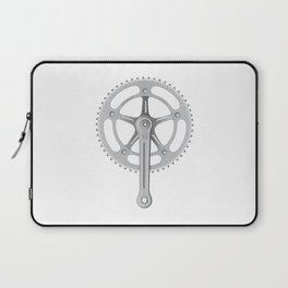 Campagnolo Track Chainset, 1974 Laptop Sleeve