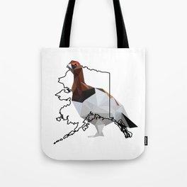 Alaska – Willow Ptarmigan Tote Bag