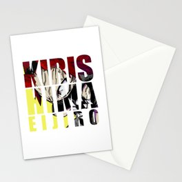Kirishima in Impact Stationery Cards