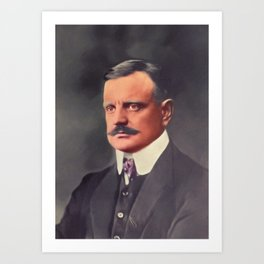 Jean Sibelius, Music Legend Art Print
