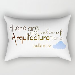 Arquitecture Rectangular Pillow