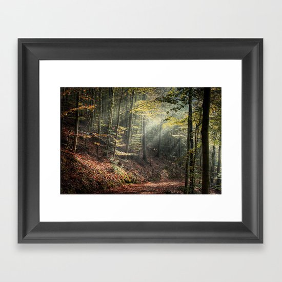 remain in light Framed Art Print