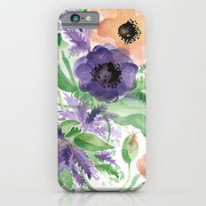 Spring Bouquet - Tulips & Anemones Slim Case iPhone 6s