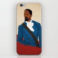 django iPhone & iPod Skins featuring Django by Anton Lundin