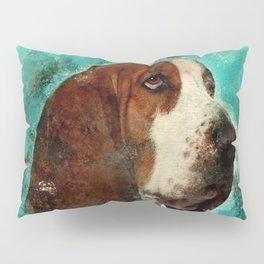 Basset Hound Pillow Sham