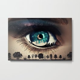 wild night Metal Print