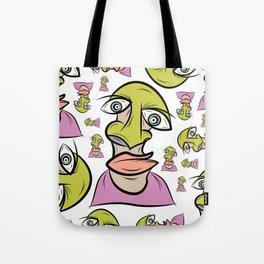 scribbleheads_shroom Tote Bag