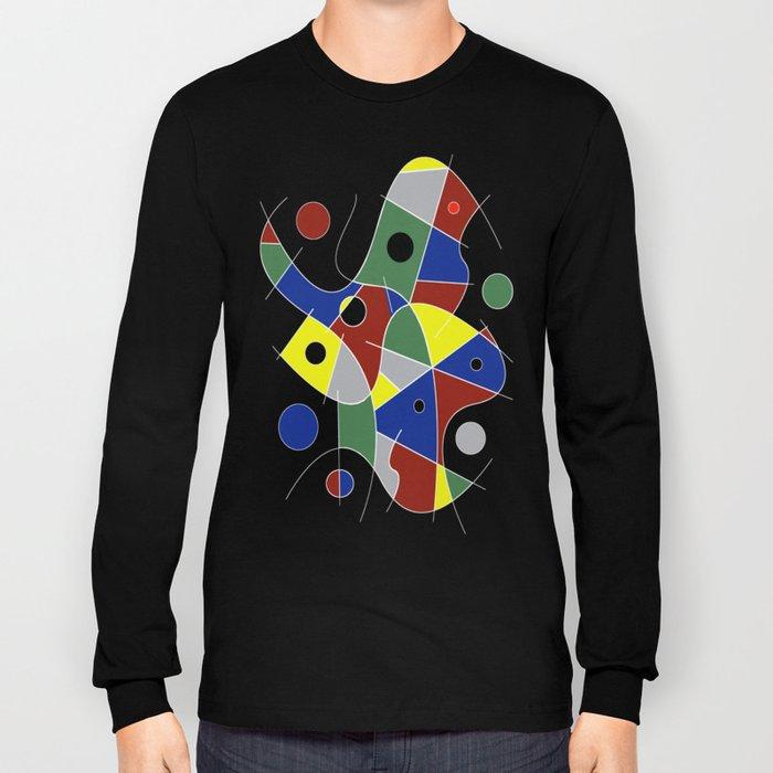 Abstract #232 Long Sleeve T-shirt