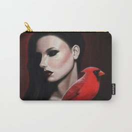 Dame Kardinal trois Carry-All Pouch
