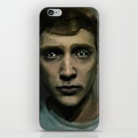kieren walker iPhone & iPod Skins featuring Kieren by LindaMarieAnson
