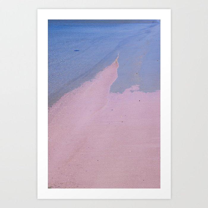 Beach Love, Beach Bliss Art Print