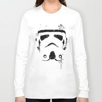 trooper Long Sleeve T-shirts featuring Trooper by Purple Cactus