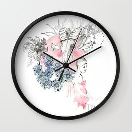 Twiggy's Dream Wall Clock