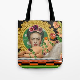 Contemplating Frida Tote Bag