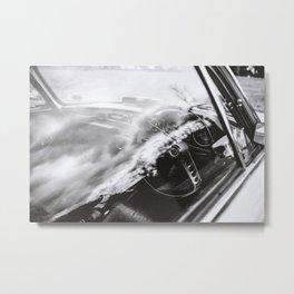 Volvo 1800s Metal Print