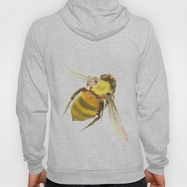 Bee, bee art, bee design Hoody