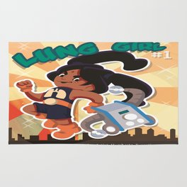 Lung Girl Cover Rug