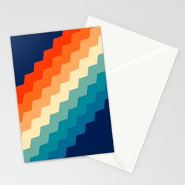 80s Pastel pattern Stationery Cards
