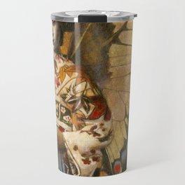 Vintage Geisha Butterfly Travel Mug