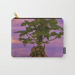 Papaya Tree And Brazilian Sunset Carry-All Pouch