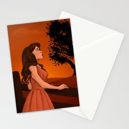Learn to let the longing go Stationery Cards