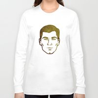 archer Long Sleeve T-shirts featuring Archer by Spooky Dooky