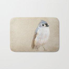 Bird Little Blue Bath Mat