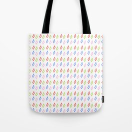 multicolor rectangles- geometric,abstraction,rectangle,multicolor,fun,pattern,joy,serious,cool,color Tote Bag