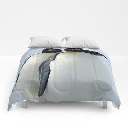 Emperor Penguins Huddled Comforters