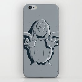 Captain Caveman Frozen So-lid iPhone Skin