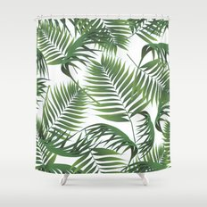Palm Leaves Shower Curtain