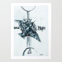 Summer bird Art Print