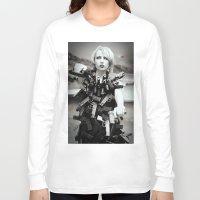 guns Long Sleeve T-shirts featuring Guns by Pedro E Bauza