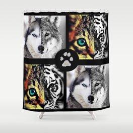 Ancestors Quilt - Pet Version Shower Curtain