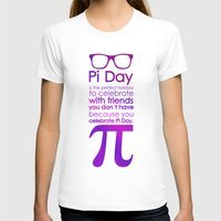pi T-shirts featuring Pi Day by Square Lemon