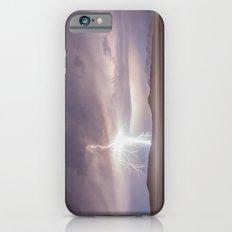 Lightning Strike, Black Rock Desert, NV iPhone 6s Slim Case