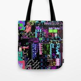 Glitchy Tote Bag