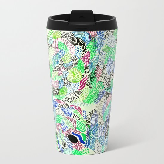 analogic Metal Travel Mug