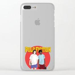 Pulp Fiction - Vincent & Jules Clear iPhone Case
