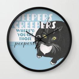 Creepers Wall Clock